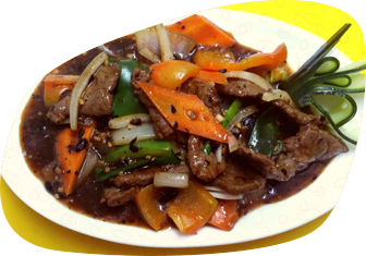 Beef  With Green Pepper & Black Bean Sauce